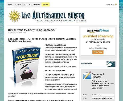 Amazon Com Multichannel Surfer Steve Lindhorst Kindle Store