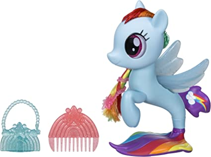 My Little Pony Mini Rainbow Dash Little Library The Movie