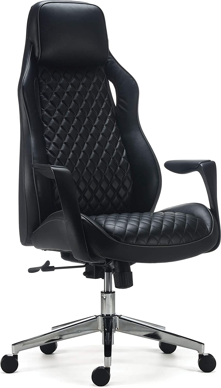 Staples 24328577 Renaro Bonded Leather Managers Chair Black