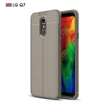 XunEda Funda LG Q7,LG Q7+,LG Q7 Plus 5.5
