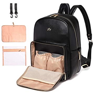 308971f36cb04 KZNI KMA4 Diaper Bag Backpack Nappy Bag Baby Bags Mom Maternity Diaper  Bacpack Unisex Pu...