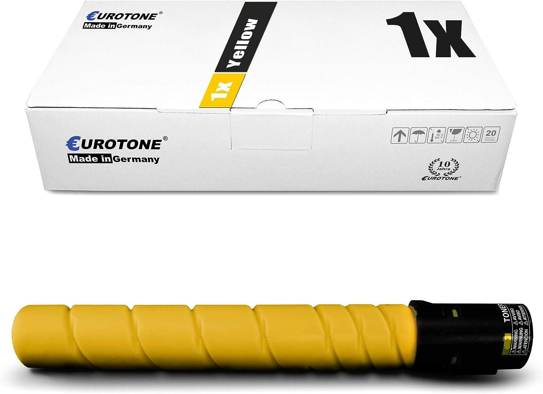 3X Eurotone Toner for Konica Minolta Bizhub C 224 284 364 e Replaces TN-321K TN321K Black