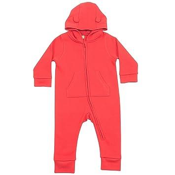b7178d2d2 Larkwood Baby Unisex Fleece All-In-One Romper Suit (18-24 Months ...