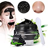 Carbone di Bambù Maschera Comedone, LuckyFine Risanamento Maschera di Pulizia Profonda Peel Off Mask Black Facciale Cura