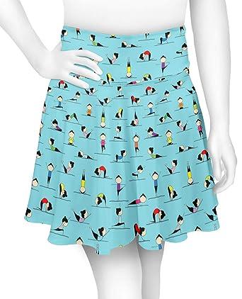Amazon.com: YouCustomizeIt - Falda de yoga (personalizable ...