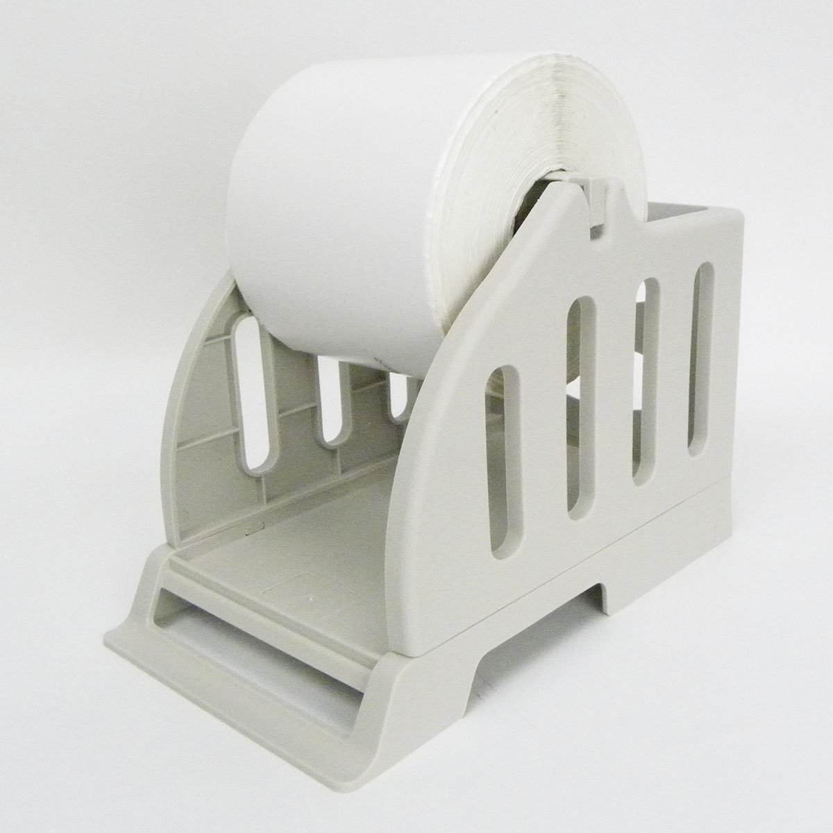 Thermal Label Holder for Rolls and Fan-Fold Labels Great for Desktop Thermal Printers Label Holder
