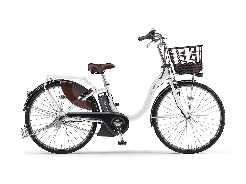 ヤマハ(Yamaha) 2019年モデル PAS With(パス ウィズ) PA26W 26インチ 12.3Ahリチウムイオンバッテリー 専用充電器付 PA26BGWL9J ピュアパールホワイト