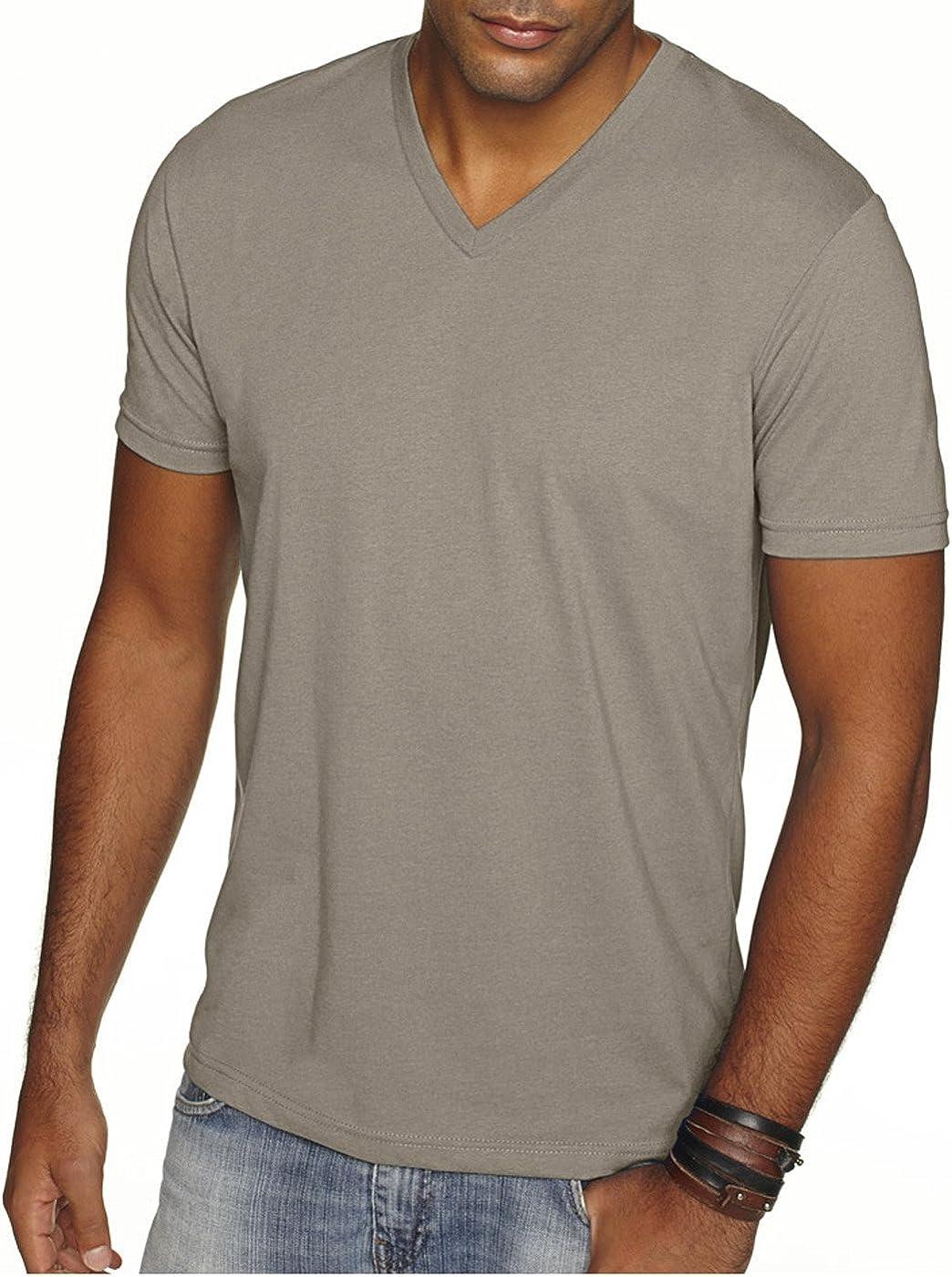 Banana Cream Next Level Mens Premium Sueded Crewneck T-Shirt