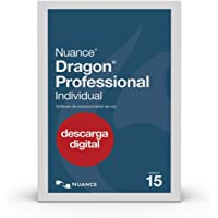 Dragon Professional Individual 15, Spanish, Dictate Documents and Control your PC – all by Voice, [PC Download]