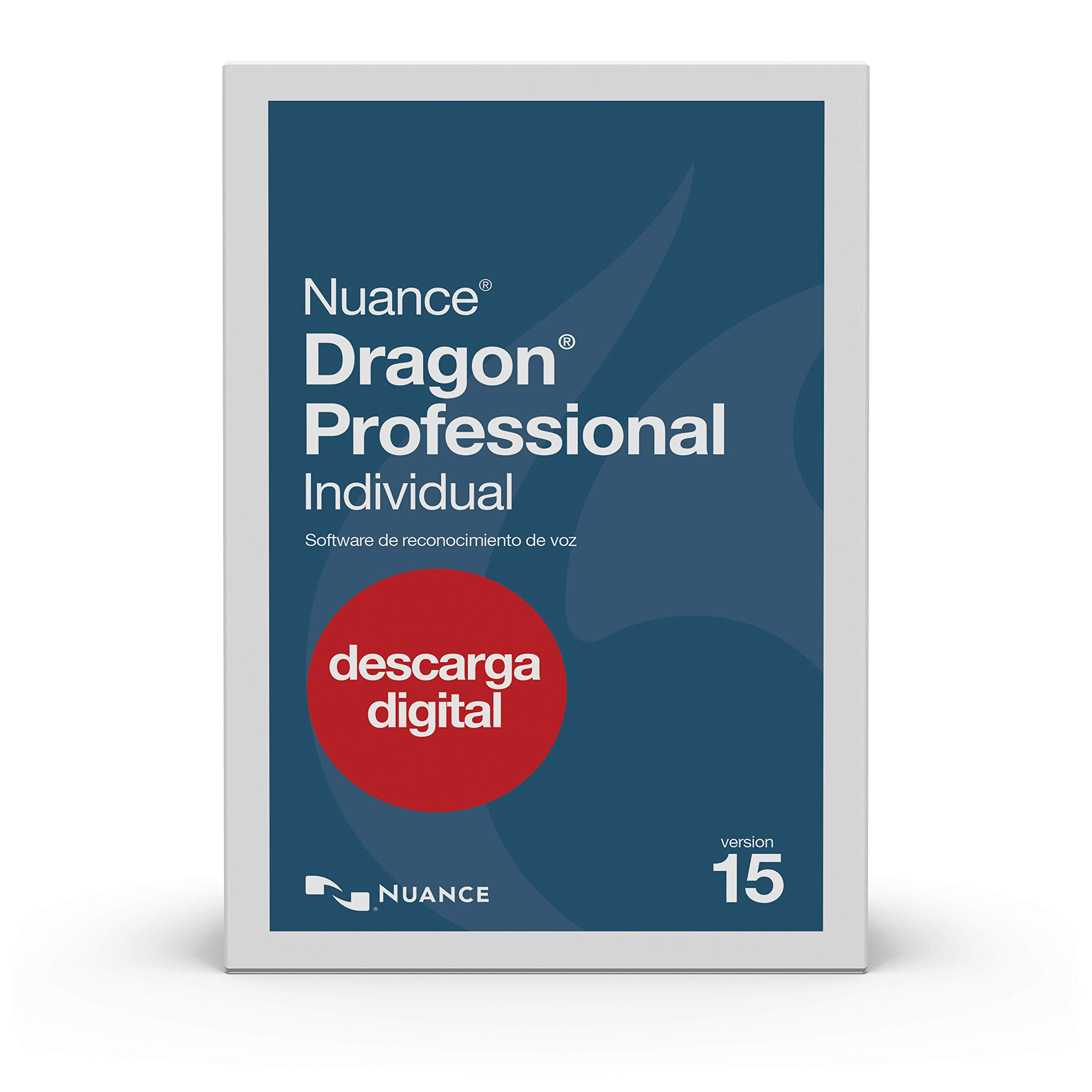 Dragon Professional Individual 15, Spanish [PC Download] by Nuance Dragon