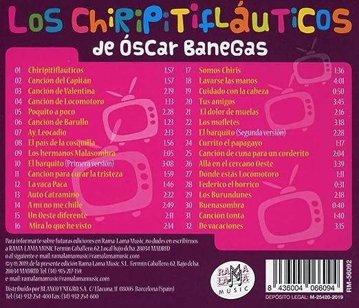 32 Grandes Canciones Infantiles: Los Chiripitifaluticos de ...