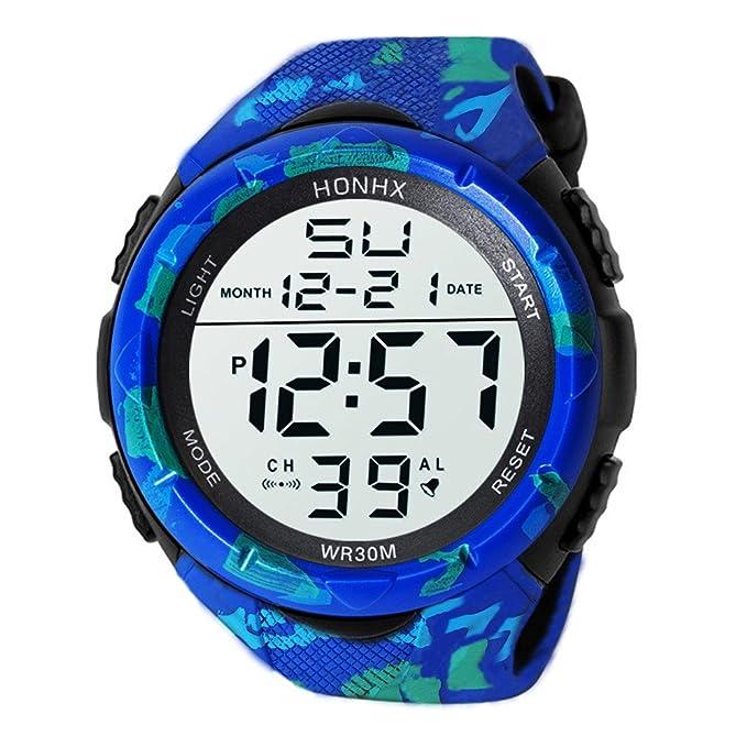 Beladla Relojes Hombre Automaticos Resistentes Al Agua Reloj Militar De La Manera De Los Deportes Al Aire Libre De Los Hombres: Amazon.es: Ropa y accesorios