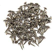 100 piezas de clavos redondos de cabeza abovedada