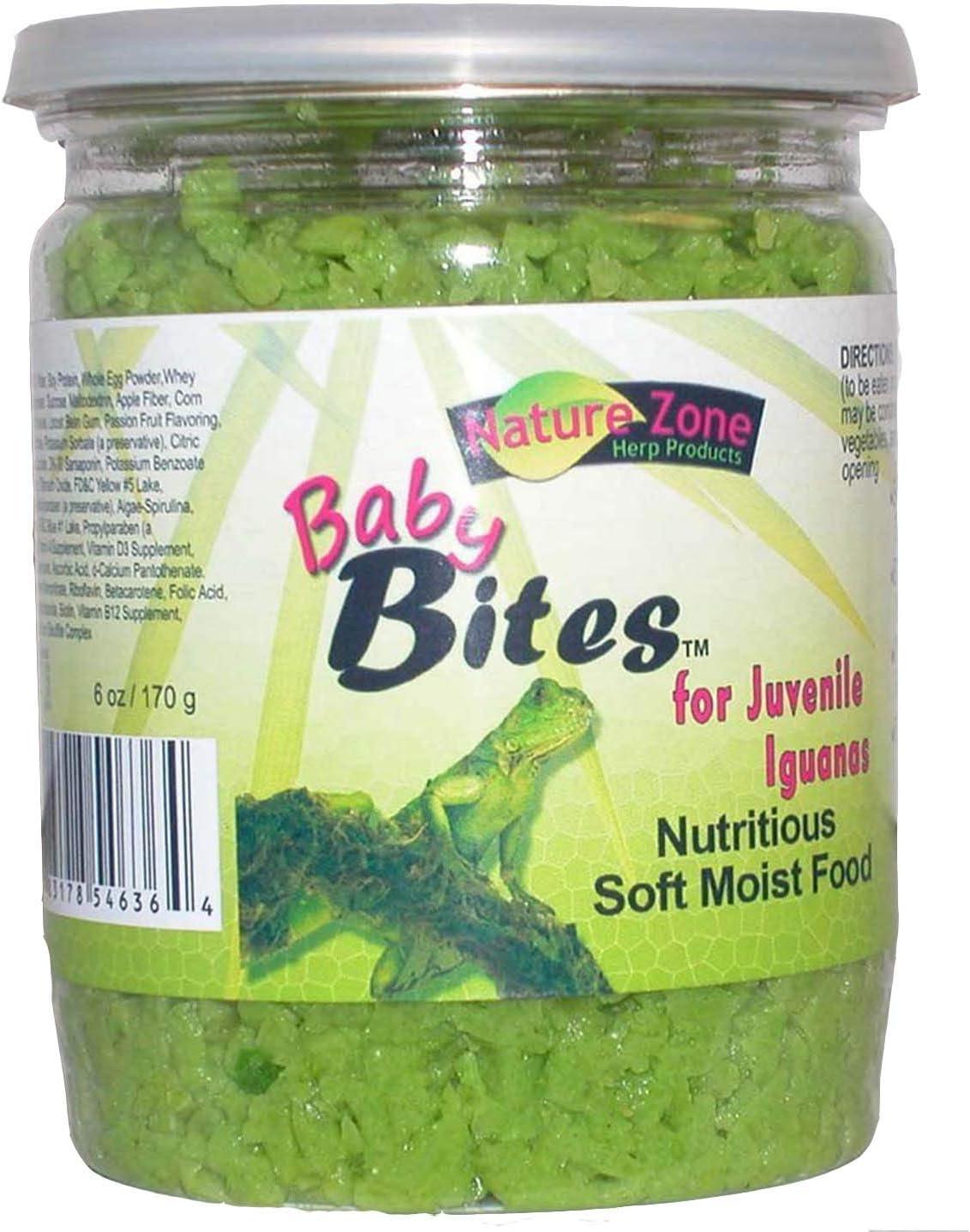 Nature Zone Juvenile Iguana Baby Bites 6oz