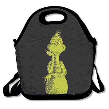 c9bc65c983f8 The Grinch Dr Seuss Christmas.png Lunch Bag, Meal Bag, Tote Bag ...