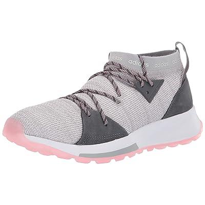 adidas Women's Quesa, Grey/Grey/True Pink, 7 M US | Road Running