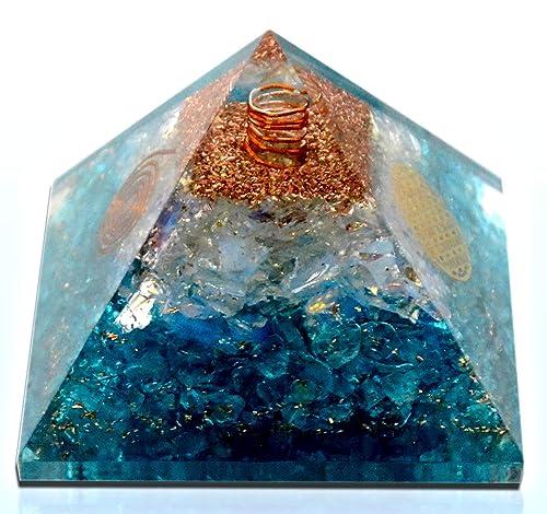 Elite Orgone – Opalite Crystal Orgone pyramid EMF Protection Energy Generator Meditation Yoga A Solution for Negative Energy Chakra Healing