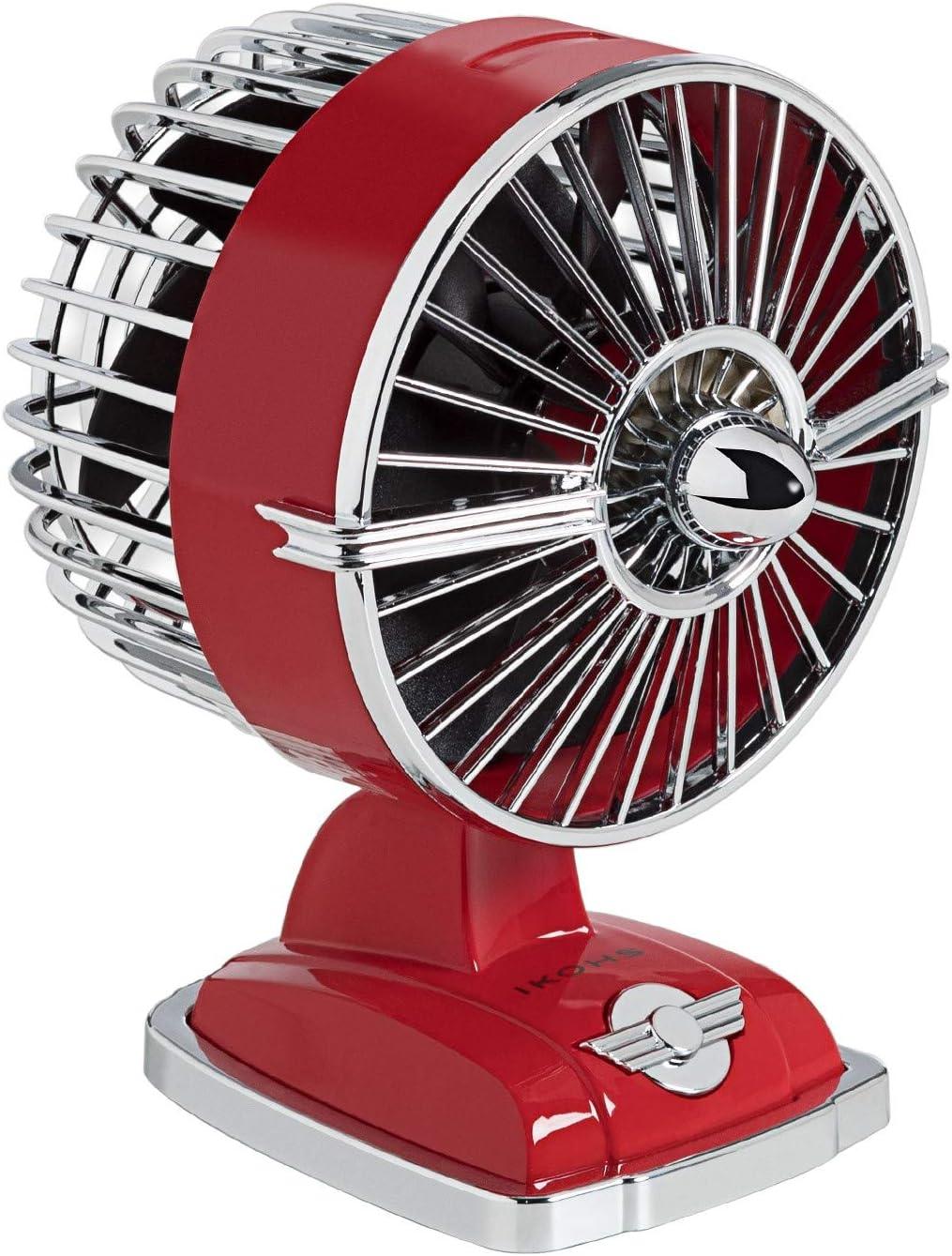 IKOHS Ventilador de Mesa Retro Line VT1511-IK USB 1.5W Rojo ...