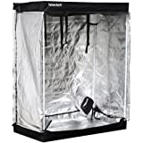 """World Pride Mylar Hydroponic Grow Tent Room Reflective for Indoor Plant Growing (48""""x24""""x60"""")"""