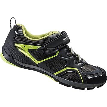 Zapatillas MTB Shimano CT70 Negro Verde 2014: Amazon.es: Deportes y aire libre