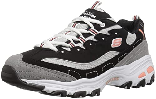 Skechers D'lites New Journey 11947 bkwg, Zapatillas para