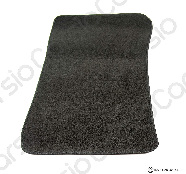 Carsio Tailored Black Carpet Car Mats for BMW 3 Series E90 E91-4 Piece Set