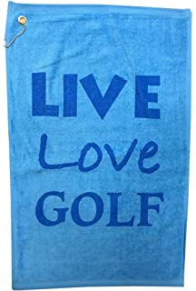 Amazon.com: Giggle I Love de golf – Toalla de golf: Sports ...