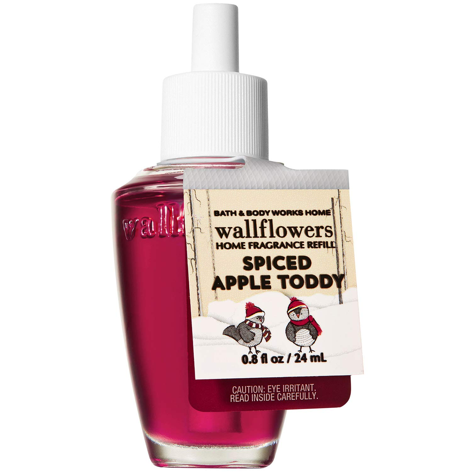 Bath and Body Works SPICED APPLE TODDY Wallflowers Fragrance Refill 0.8 Fluid Ounce (2019 Holiday Edition)