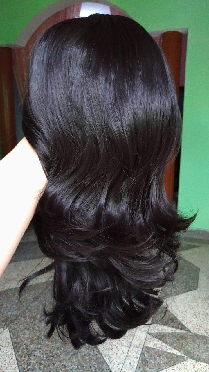 Alizz fabulous curly step cut feather cut long hair extension full
