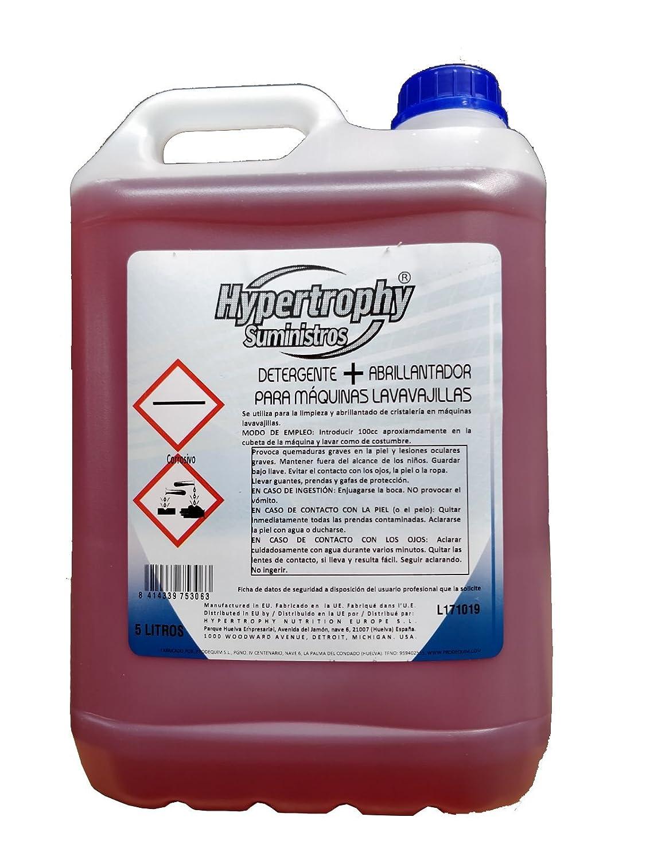 Hypertrophy - Detergente + Abrillantador para máquinas ...