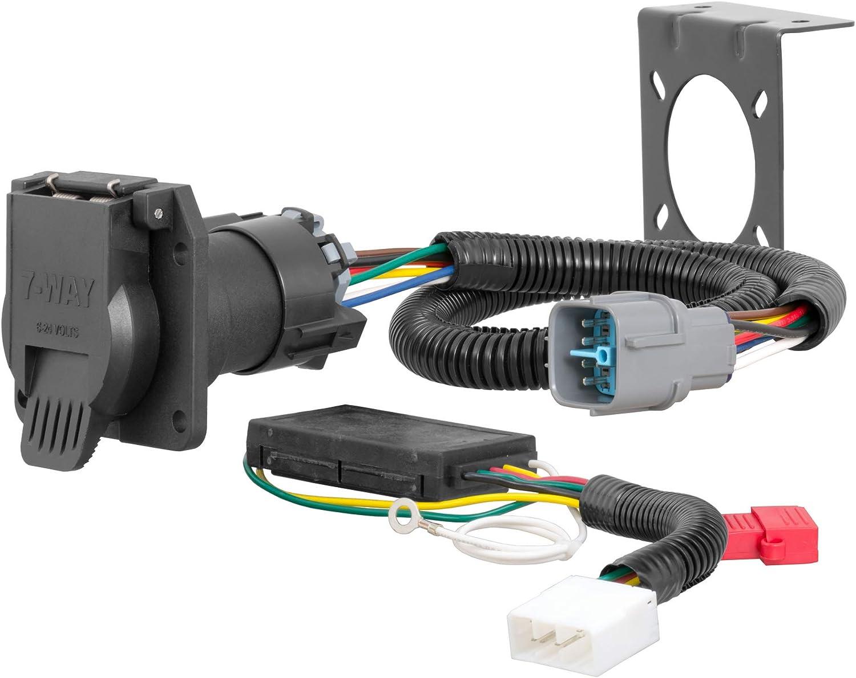 Amazon.com: CURT 56366 Vehicle-Side Custom RV Blade 7-Pin Trailer Wiring  Harness, Select Honda Pilot, Ridgeline: Automotive | 2005 Honda Pilot Trailer Wiring |  | Amazon.com