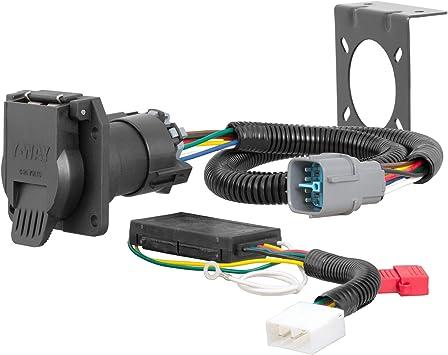 Amazon.com: CURT 56366 Vehicle-Side Custom RV Blade 7-Pin Trailer Wiring  Harness, Select Honda Pilot, Ridgeline: AutomotiveAmazon.com