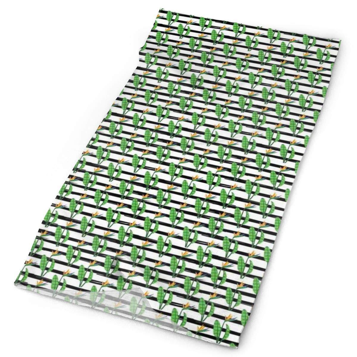 Headwear Headband Green Mountains Pattern Head Scarf Wrap Sweatband Sport Headscarves For Men Women