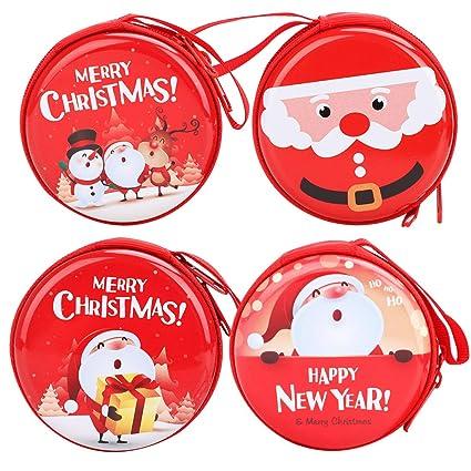 Monedero de monedas, monedero de Navidad para niños y niñas ...