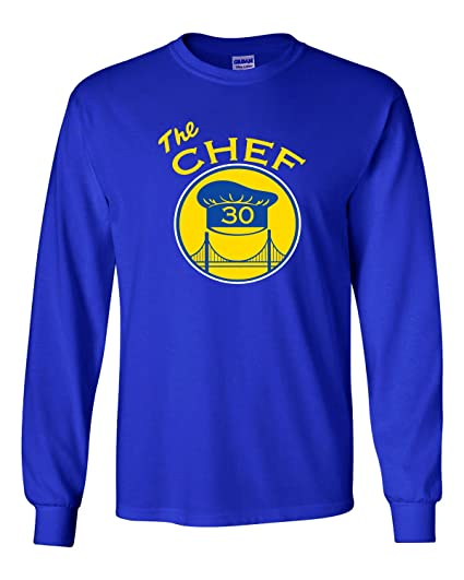 08ac6ea6eced The Silo LONG SLEEVE BLUE Golden State Steph Curry  quot The Chef quot  ...