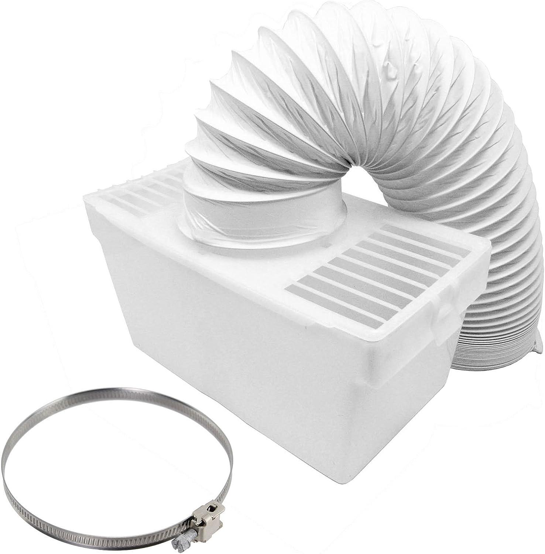 Spares2go caja de ventilación de condensador y kit de manguera con clip Jubilee para secadora ventilada FAGOR (4