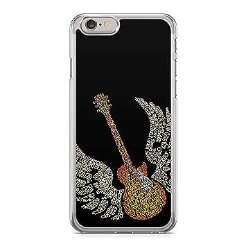 Funda Carcasa Guitarra para iPhone 8 Plus 8PLUS Silicona ...