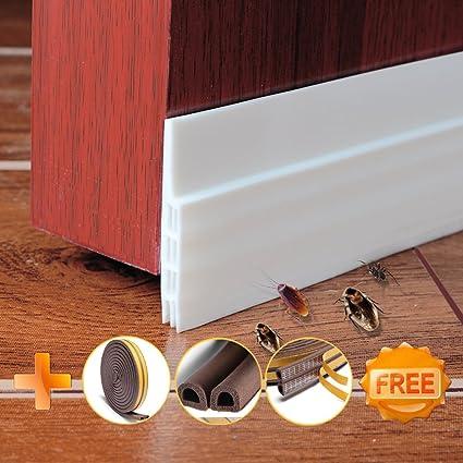 Door Draft - AngelFalls Door Sweep Weather Stripping Door Seal & Door Draft - AngelFalls Door Sweep Weather Stripping Door Seal ...
