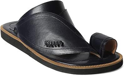 Nebras Black Thong Slipper For Men