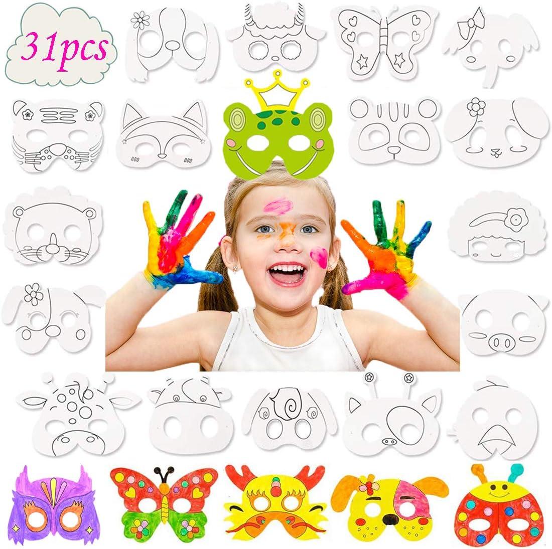 Amazon Promo Code for 32 Pcs Animal Masks for Kids