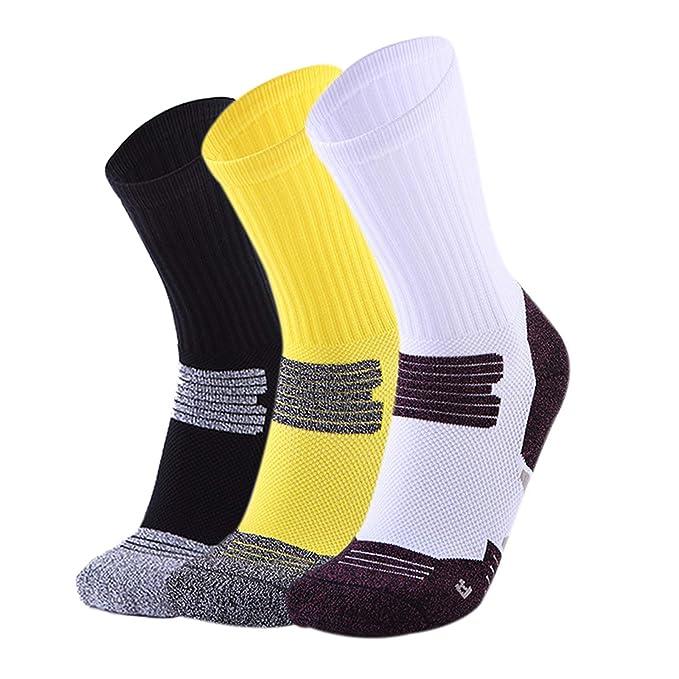 Beydodo Calcetines Gruesos Calcetines Deportivos Hombre Multicolor Calcetines Deporte Transpirables Calcetines Baloncesto: Amazon.es: Ropa y accesorios