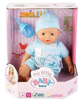 fe2f705b19ebfe Zapf Creation 817117 - My Little Baby Born Boy: Amazon.de: Spielzeug
