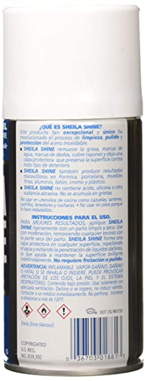 SHE1EA - Sheila Shine Stainless Steel Cleaner amp;amp; Polish (Pack of 3)