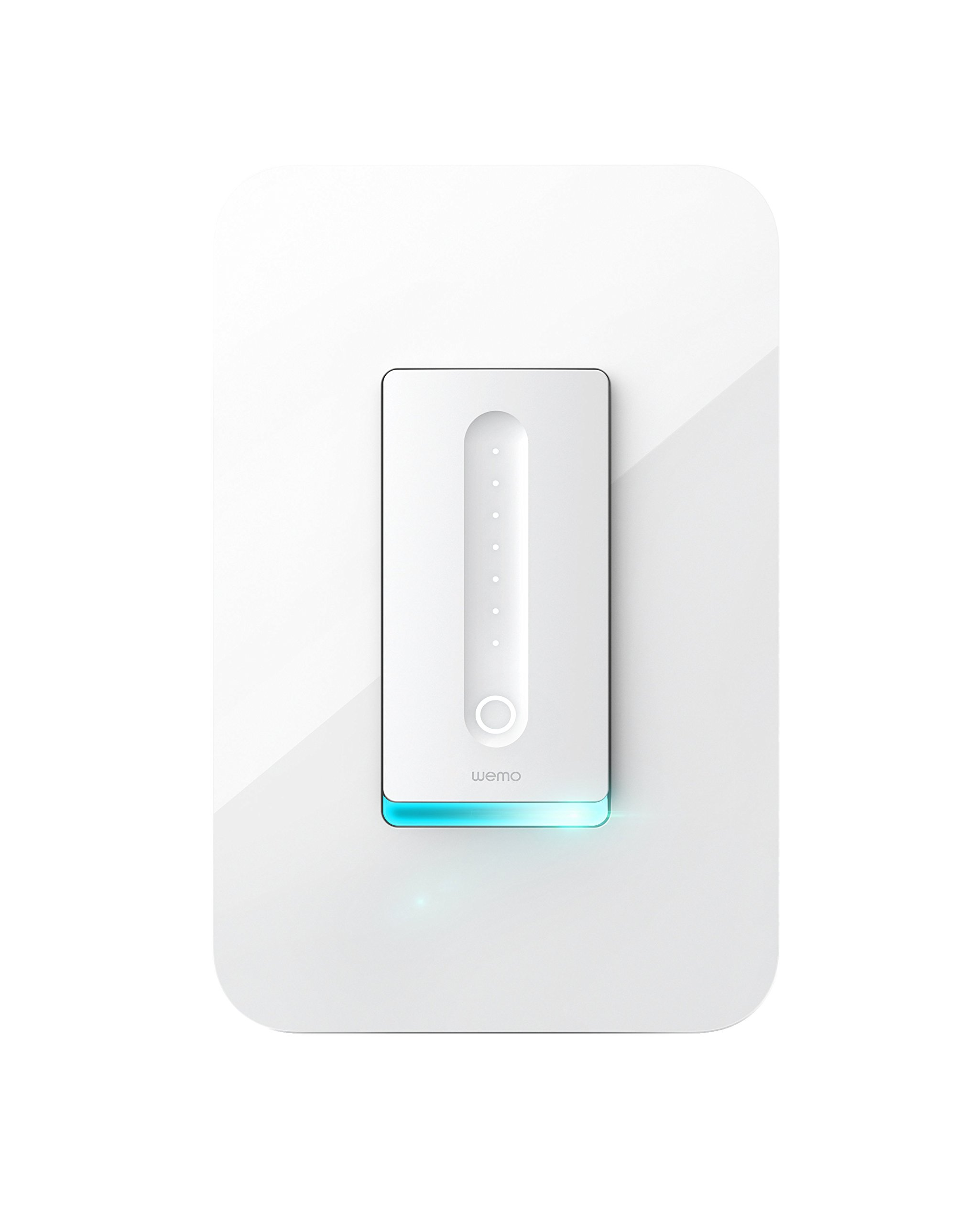 WeMo Dimmer Wifi Light Switch, Works with Alexa, the Google Assistant and Apple Homekit (F7C059) by WeMo