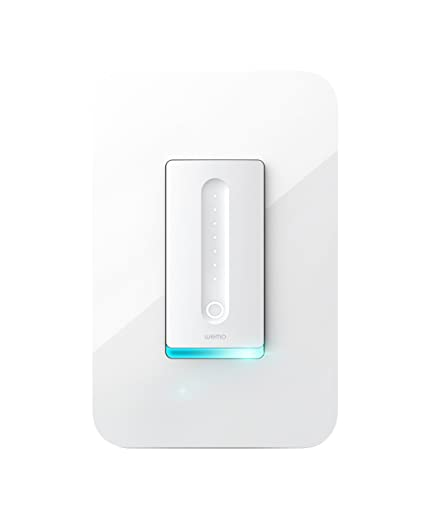 Amazon.com: Wemo Dimmer Wi-Fi Light Switch, Works with Alexa and ...