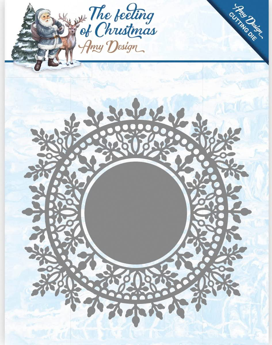 add10110 Ice Crystal circle-the feeling of Christmas-de Amy Design