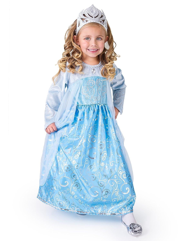Amazon.com: Little Adventures Ice Princess Dress Up Costume for ...