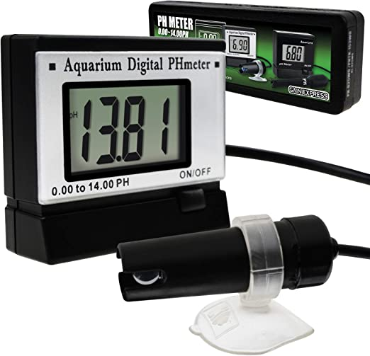 Digital pH Monitor Meter Tester 0.00~14.00pH w// 1.5M Long Cable Electrode Probe