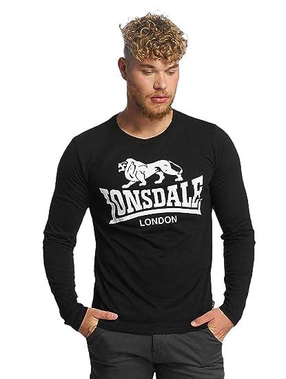 Lonsdale London Hombres Ropa superior / Camiseta de manga larga ...