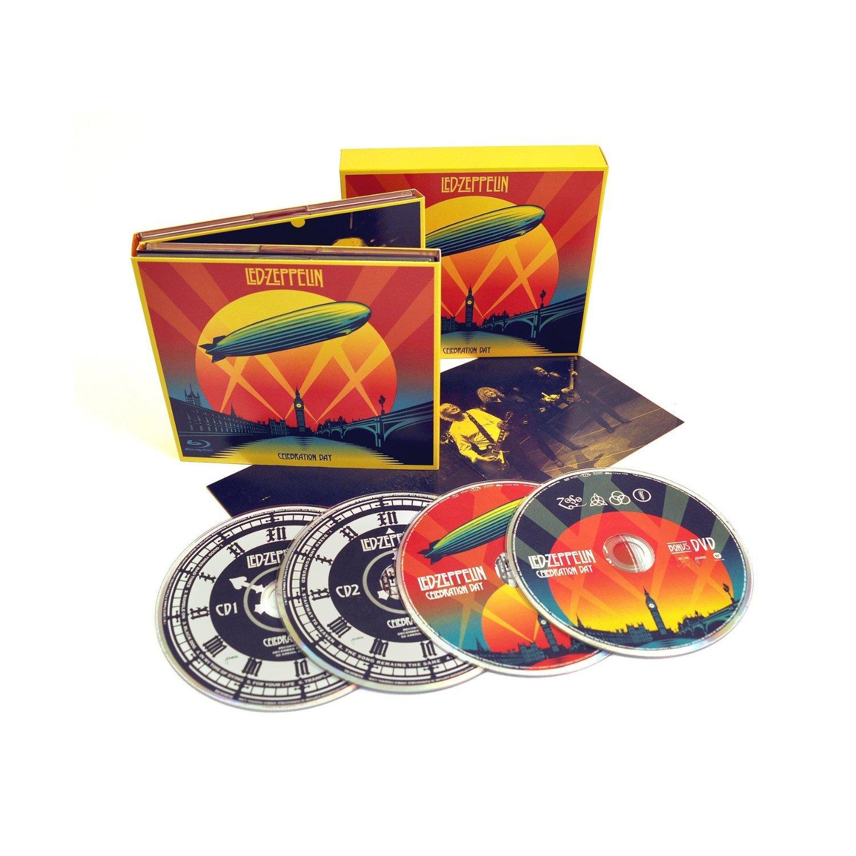 CD : Led Zeppelin - Celebration Day (Bonus DVD, Deluxe Edition, 4 Disc)